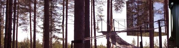Treehotel i Harads, Sverige