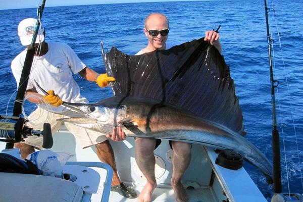 Jonatan with a sailfish [private]